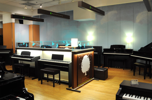 Roland Keyboard Pianos at Grand Strand Piano Center Myrtle Beach SC
